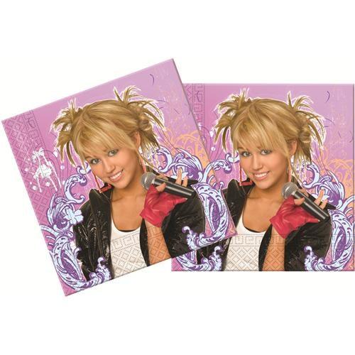 Partisepeti Hannah Montana Kağıt Peçete