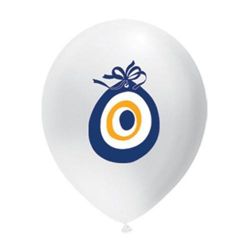 Partisepeti Nazar Boncuğu Baskılı Balon 25 Adet