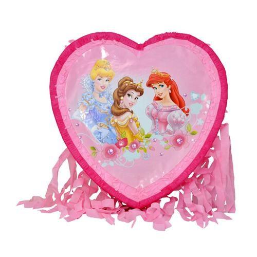 Prenses Kalp Pinyata + Sopası