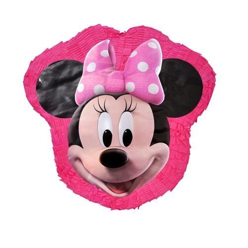 Minnie Mouse Pinyata + Sopası