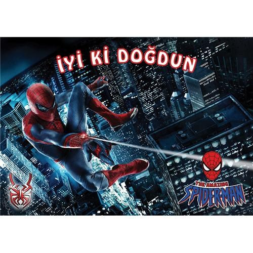 Partisepeti Spiderman Amerikan Servis