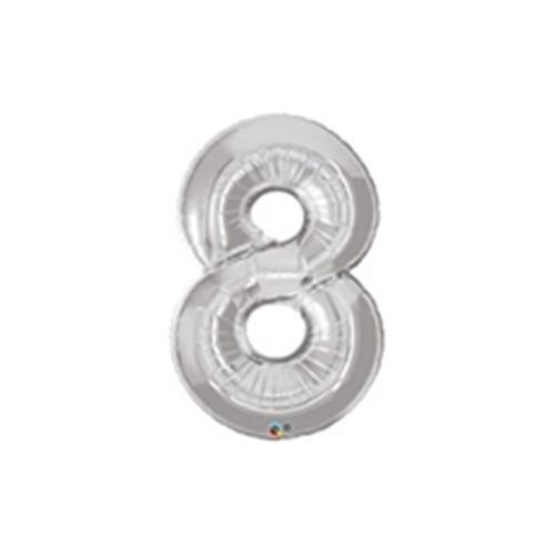 8 Folyo Balon Metalik