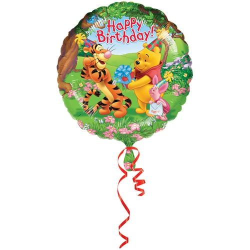 Partisepeti Winnie Happy Birtday 18 İnc Folyo Balon