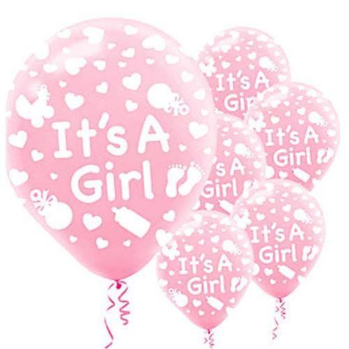 Partisepeti İt's A Girl Balon