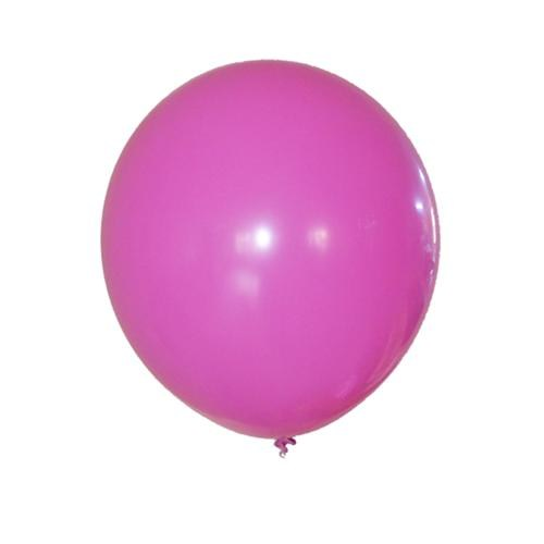 Partisepeti Fuşya Düz Renk Balon 25 Adet
