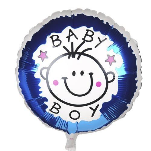 Partisepeti Baby Boy Folyo Balon