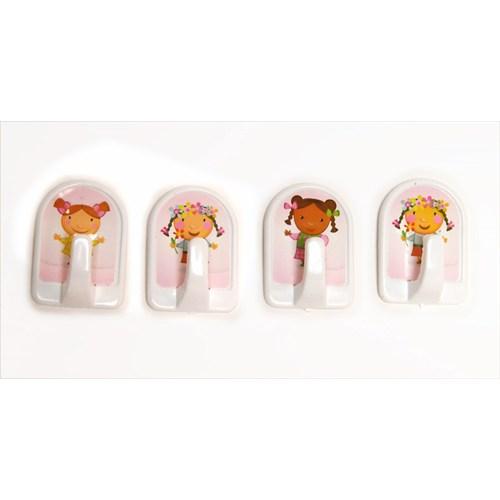 4 Lü Candy Resimli Askı-G29