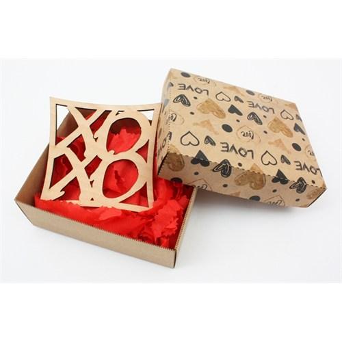 Ayşegül Evleniyor Kutu İçinde Xo Yazılı Bardak Altı 03