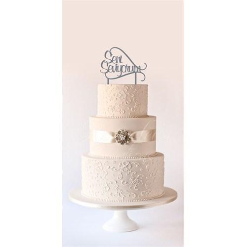 Ayşegül Evleniyor Pasta Süsü 04