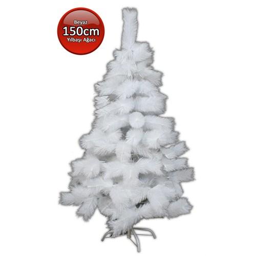 Kostümcüm 150 cm Beyaz Yılbaşı Ağacı