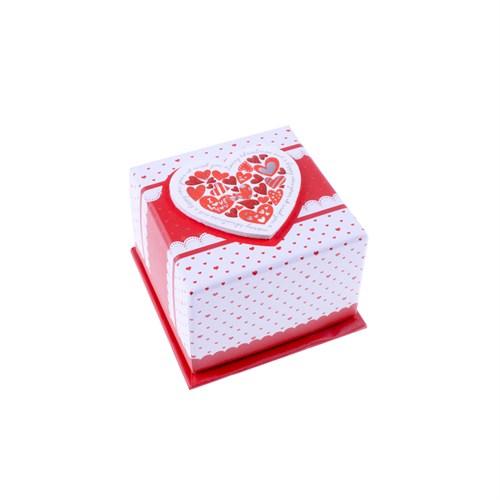 Kullan At Market Kırmızı Kalpler Hediye Kutusu