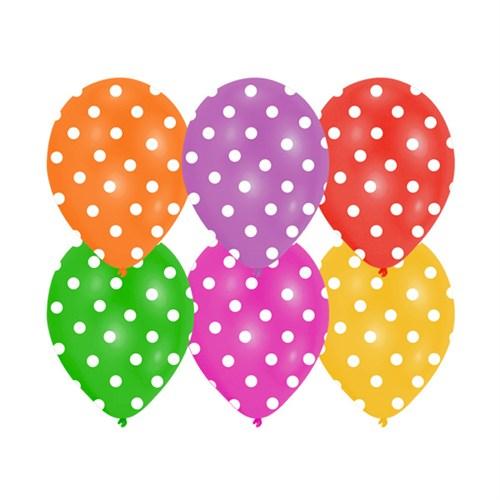 KullanAtMarket Karışık Puantiyeli Balon