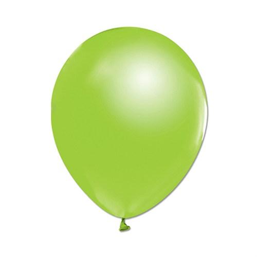 KullanAtMarket Metalik Yeşil Balon