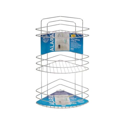 HomeCare Alara 3 Katlı Banyo Köşeliği 091845