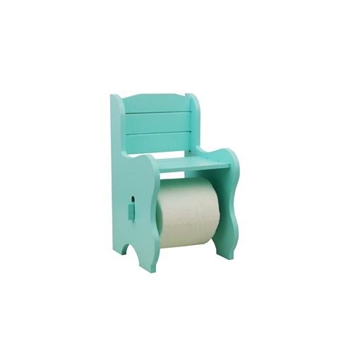 Cosiness Ahşap Tuvalet Kağıtlığı - Yeşil