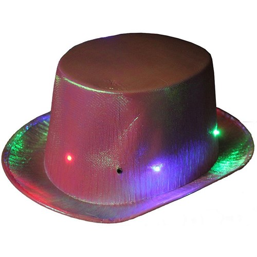 Pandoli Işıklı Parti Şapkası Pembe