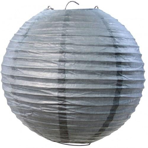 Pandoli Çin Feneri Asma Süs Gümüş Renk 35 Cm