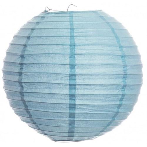 Pandoli Çin Feneri Asma Süs Bebek Mavisi Renk 35 Cm