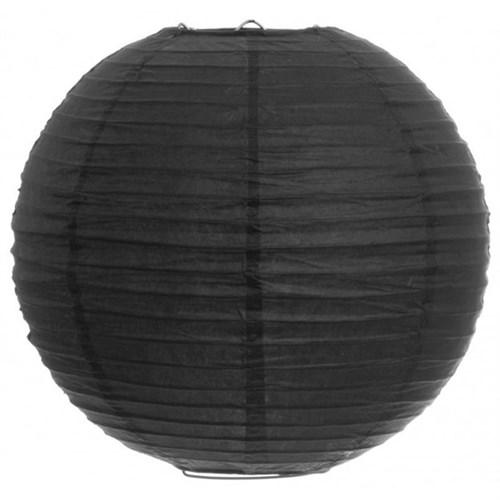 Pandoli Çin Feneri Asma Süs Siyah Renk 35 Cm