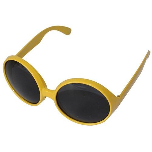 Pandoli Sarı Renk 80 Li Yıllar Gözlük