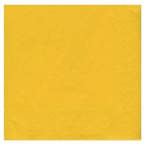 Pandoli Sarı Renk 50 Adet Kağıt Parti Peçetesi 33 Cm
