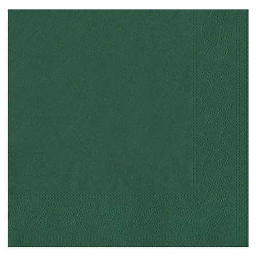 Pandoli Yeşil Renk 50 Adet Kağıt Parti Peçetesi 33 Cm