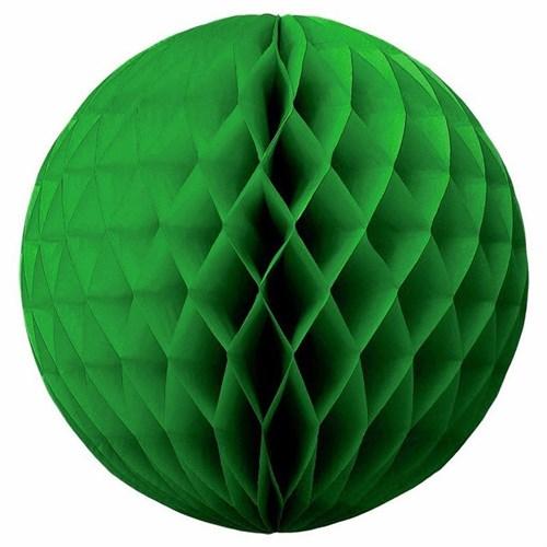 Pandoli Yeşil Renk Petek Dekor Asma Süs 30 Cm 1 Adet