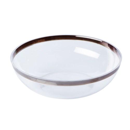 Pandoli Lüks Plastik Şeffaf Salata Kasesi Küçük Boy 14 Cm