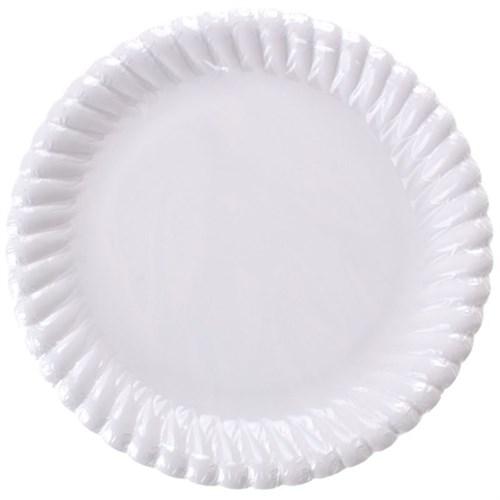 Pandoli Beyaz Renk 23 Cm Karton Parti Tabağı 8 Adet