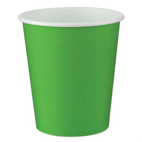 Pandoli Yeşil Renk 180 Ml Karton Parti Bardağı 8 Adet