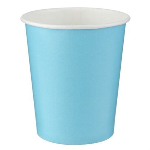 Pandoli Mavi Renk 180 Ml Karton Parti Bardağı 8 Adet