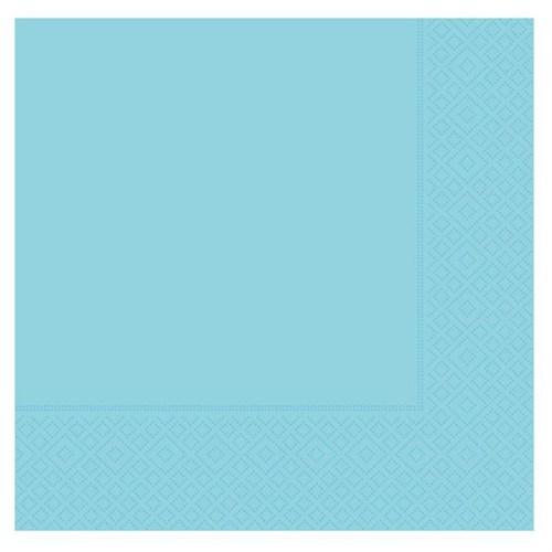Pandoli 20 Adet Mavi Renk Kağıt Parti Peçetesi 33 Cm