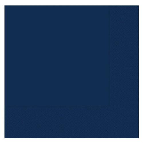Pandoli 20 Adet Lacivert Renk Kağıt Parti Peçetesi 33 Cm
