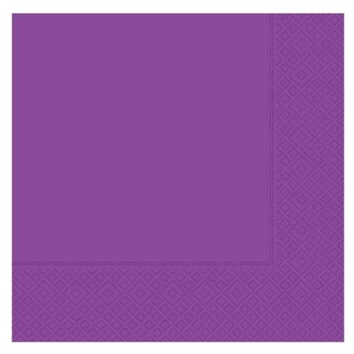 Pandoli 20 Adet Mor Renk Kağıt Parti Peçetesi 33 Cm