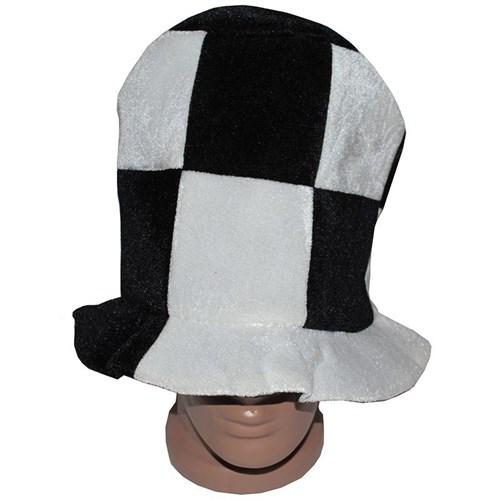 Pandoli Siyah Beyaz Parti Şapkası