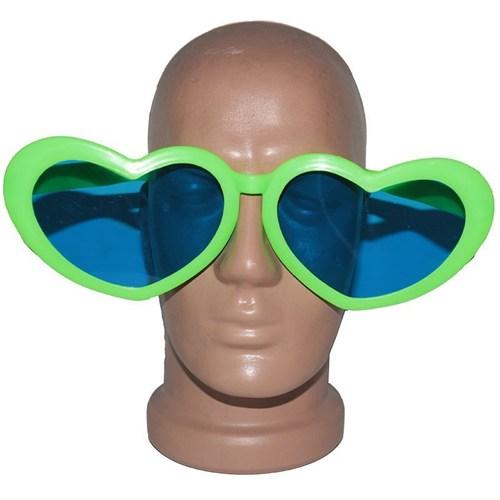 Pandoli Kalpli Parti Gözlüğü Büyük Boy Yeşil Renk