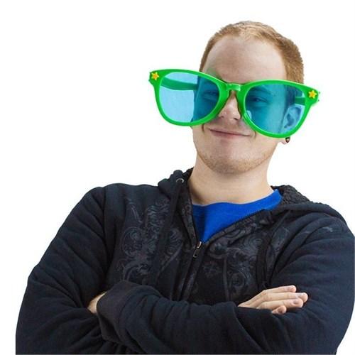 Pandoli Yeşil Renk Büyük Parti Gözlüğü