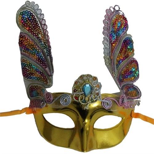 Pandoli Sarı Venedik Maskesi