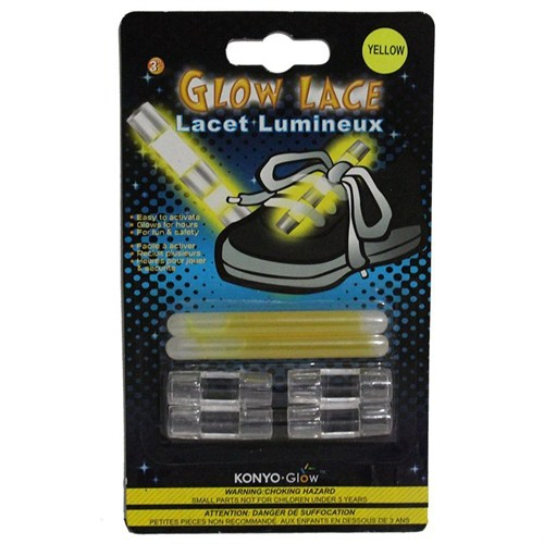 Pandoli Sarı Renk Ayakkabı Neonlu Glow Stick 2 Adet