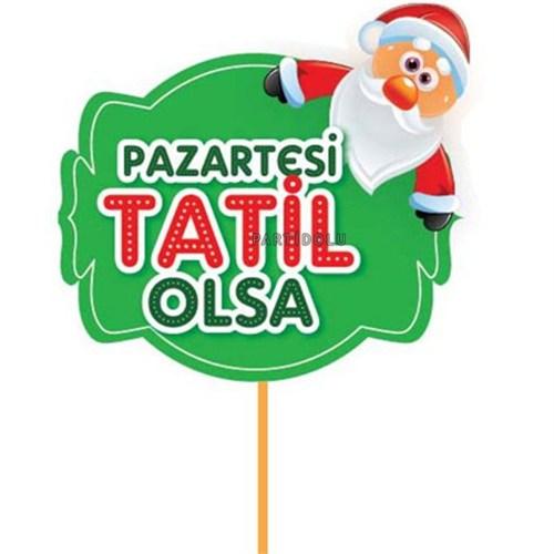 Pandoli Pazartesi Tatil Olsa Sopalı Noel Konuşma Balonu