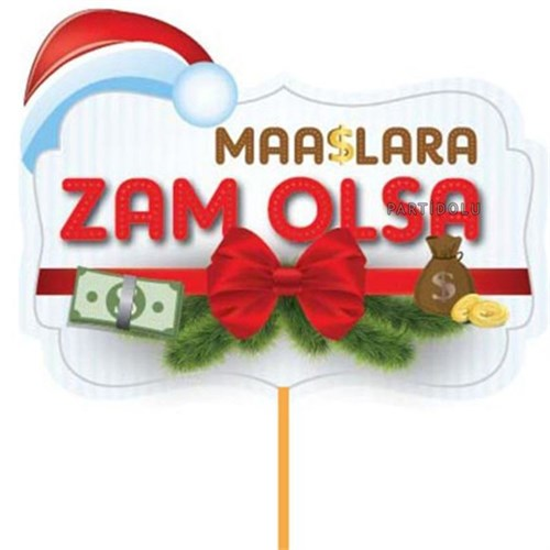 Pandoli Maaşlara Zam Olsa Sopalı Noel Konuşma Balonu