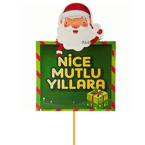 Pandoli Nice Mutlu Yıllara Sopalı Noel Konuşma Balonu