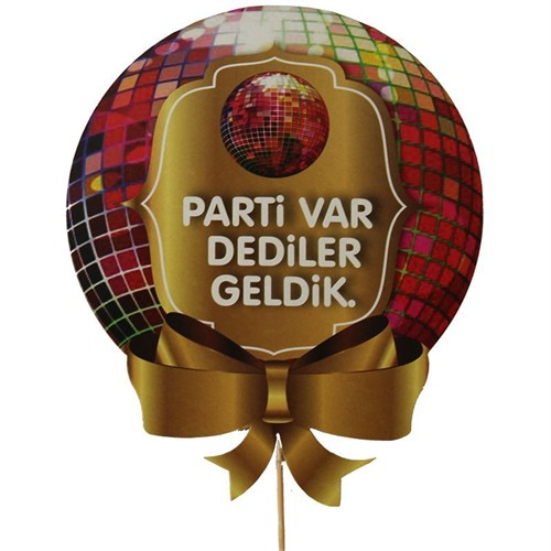 Pandoli Parti Var Dediler Geldik Konuşma Balonu