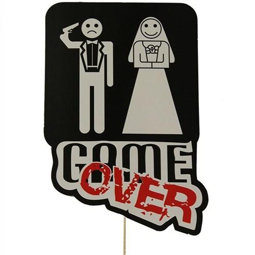 Pandoli Game Over Düğün Temalı Konuşma Balonu