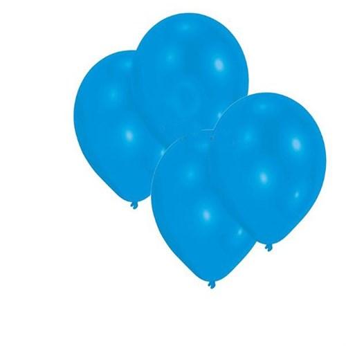 Pandoli Koyu Mavi Lacivert Metalik Düz Renk Sedefli Latex Balon 25 Adet