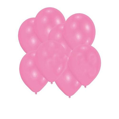Pandoli Bebek Pembesi Metalik 100 Adet Düz Renk Sedefli Latex Balon