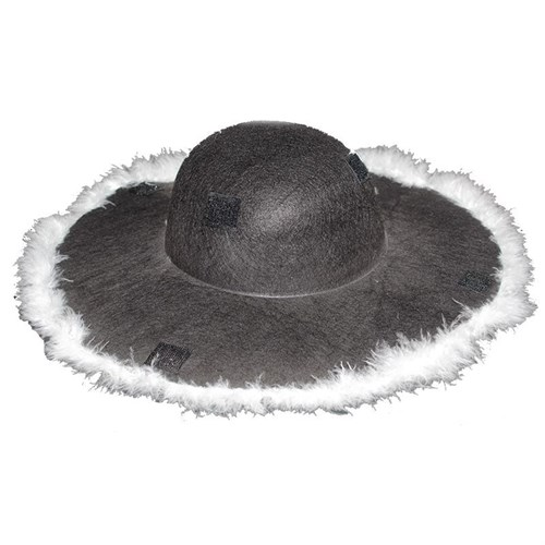 Pandoli Otrişli Party Şapkası Cırtlı Siyah Renk
