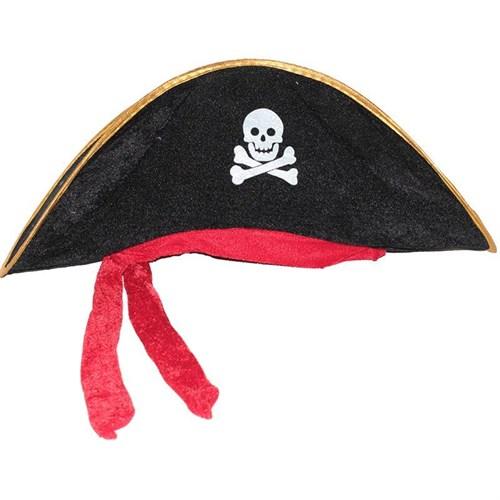Pandoli Kuru Kafa Armalı Korsan Şapkası