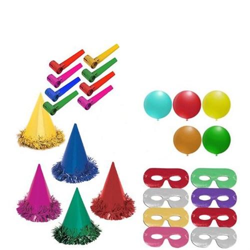 Pandoli 1000 Adet Parti Şapkası Eğlence Seti