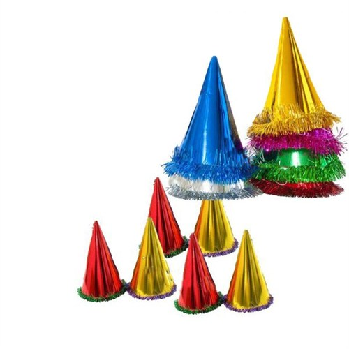 Pandoli 500 Adet Karton Kukuleta Parti Şapkası